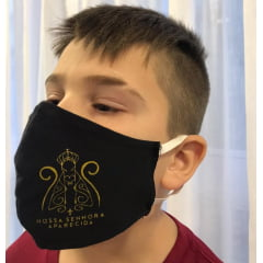 Proteção Facial Personalizada Cristã Kit 5 pçs N.Senhora