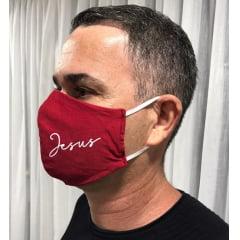 Proteção Facial Personalizada Cristã Kit 5 peças Jesus