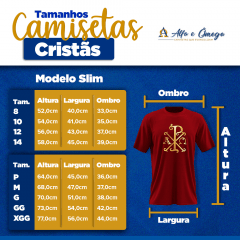 Camiseta Cristã -  Alfa e Ômega Preta