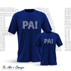 "Camiseta Avulsa IFANTIL - ""PAIS E FILHOS"""