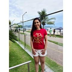 Camiseta Cristã -  BRASÃO PAX