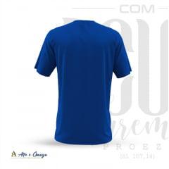 Camiseta Cristã  - Com Deus Faremos Proezas