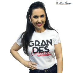 Camiseta Cristã - Grandes Coisas Estão Por Vir