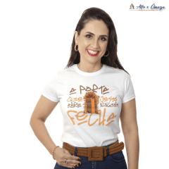 Camisetas Cristãs - A Porta que Jesus abre ninguém fecha