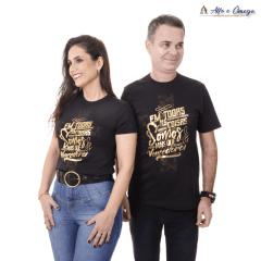 Camisetas Cristãs - Em todas as coisas somos mais que vencedores