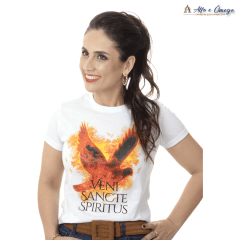 Kit Evangelização 2 Camisetas Veni Sancte Spiritus