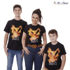 Kit Evangelização 2 Camisetas Veni Sancte Spiritus + A Porta + 5 Faciais