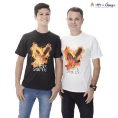 """kIT Evangelização 3 CAMISETAS """"Maria + A Porta + Veni"""""""