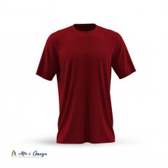 Kits 3 camisetas lisas - PRETA - VERMELHA - BRANCA