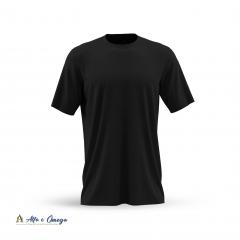 Kits 5 camisetas lisas - VERMELHA -  AZUL ROYAL  - BRANCA - PRETA - MESCLA