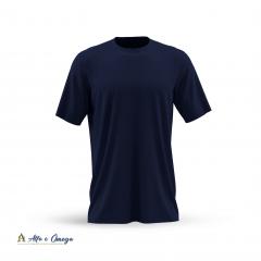 Kits 5 camisetas lisas - AZUL MARINHO - AZUL ROYAL  - BRANCA - PRETA - MESCLA