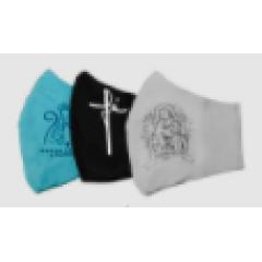 Proteção Facial Personalizada Cristã KIT 1 - 3 Pçs